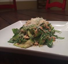 Shaved Zucchini Salad aka Pile of Green Things