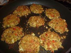 VEGETARIAN FOOD QUEST: March 2013  faux crab cakes, VEGAN