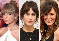 10 ideias de penteados para quem tem franja