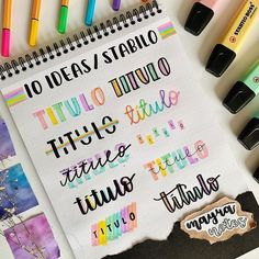 24 Insanely Simple Bullet Journal Header Ideas To Steal! Need some bullet journal header ideas for beginners? This post is FOR YOU! The perfect way to liven up your bullet journal is with a fancy header! Bullet Journal Headers, Bullet Journal Lettering Ideas, Bullet Journal Banner, Journal Fonts, Bullet Journal Notebook, Bullet Journal School, Bullet Journal Ideas Pages, Bullet Journal Inspiration, Arc Notebook