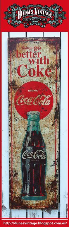 DUNA'S VINTAGE: Beter met Coke Coca Cola, Duna's Vintage, Te Koop € 500.