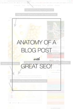SEO 101 for bloggers. search engine optimisation tips, blogging tips, how to make your blog posts better.