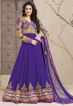 #Purple #ChuridarKameez @ $128.01