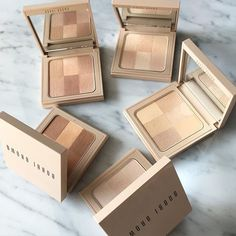 New Bobbi Brown nude finish illuminating powders