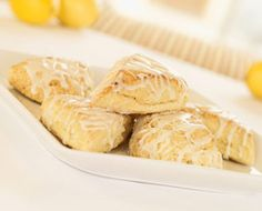 This is my go-to glazed lemon scone recipe that I make A LOT. Found it in Family Fun magazine. These scones started the scone-craze in my house.