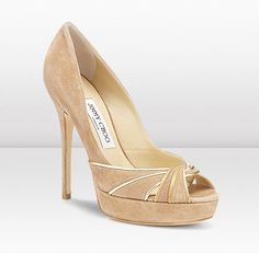 in LOVE with these jimmy choos... color matches everything, not too fancy, not too casual.