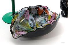 Vintage Murano Glass Ash Clam Shell Ash Bowl