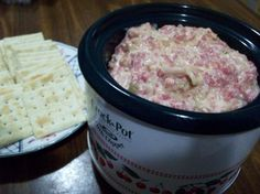 Reuben Dip: another old standby. I like to serve it with pretzel crackers.