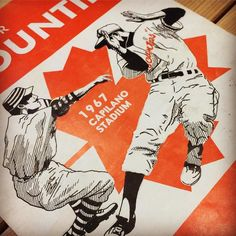 The Blue Jays played their annual Canada Day game this morning and the Vancouver Canadians have theirs tonight. Here's a look at a program from the Vancouver Mounties 1967 season. The Mounties were the first club to play at Nat Bailey Stadium then called Capilano. . . #canada #canadaday #canada150 #canadianbaseball #bluejays #jays #jaysnation #canadasteam #vancouvercanadians #baseball #canadiansports #sportshistory