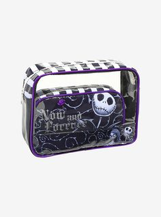08b8059f9e4f The Nightmare Before Christmas 2-Piece Makeup Bag Set