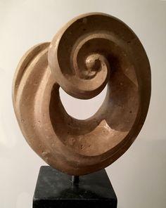 Portland Curl Portland Limestone (Private Collection )