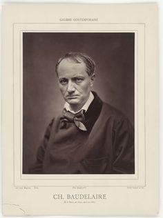 Etienne Carjat | Ch. Baudelaire. Ne a Paris, en 1821, mort en 1867., Etienne Carjat, Goupil & Cie, c. 1862 - c. 1867 |