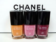 chanel nailpolish winter colours