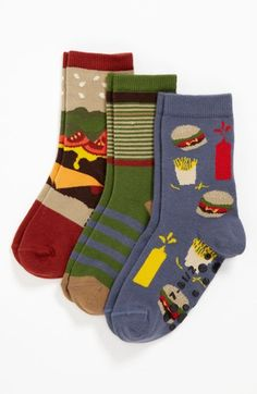 Nordstrom 'Drive Thru' Crew Socks (Walker Boys, Toddler Boys & Little Boys) available at #Nordstrom