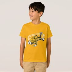 #Old School Hip Hop Breakdancer T-Shirt - #cool #kids #shirts #child #children #toddler #toddlers #kidsfashion