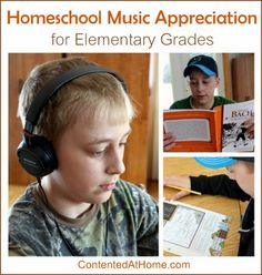 Homeschool Music Appreciation for Elementary Grades