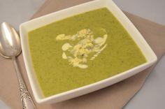 Brocoli and stilton soup
