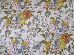 Vintage Fabric/By the Yard