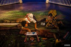 Biennial de Sur Panama 2013 - Narcissus and his Friends - Anamorphic Street Art - Contributor: cuboliquido. 3d Street Painting, 3d Street Art, Summer Art Projects, Cool Art Projects, Painting Gallery, Art Gallery, Panama, Chalk Artist, Pavement Art