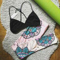 #leginy #bralette #podprsenka #essentialsforzula #joga #relax #yoga #workout #outfit #mandala #happiness #stesti #72kocek #pink #lingerie #leggings #fitness String Bikinis, Mandala, Relax, Leggings, Yoga, Workout, Fitness, Swimwear, Instagram