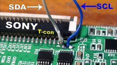 How to add another panel on Sony Bravia LCD TV. in 2019 Sony Lcd Tv, Sony Led, Panel Led, Tv Panel, Electronic Circuit Design, Computer Maintenance, Electrical Circuit Diagram, Lcd Television, Electronic Schematics