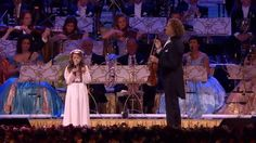 André Rieu & Amira - O Mio Babbino Caro  Incredible.Ten years old only!!!!!!!!!!