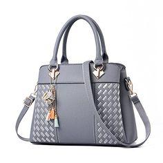 e793498be324 Womens Purses and Handbags Ladies Designer Satchel Tote Bag Shoulder Bags  (Light Gray) afflink
