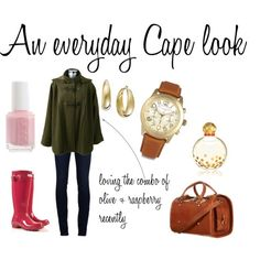 Love the cape and the accesories!!