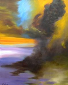 "Saatchi Art Artist William Kroll; Painting, ""Phase Change 2"" #art"