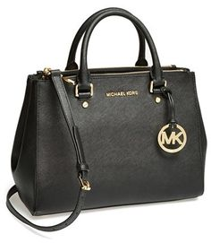 $328, Michl Michl Kors Medium Sutton Saffiano Leather Tote by MICHAEL Michael Kors. Sold by Nordstrom. Click for more info: http://lookastic.com/women/shop_items/137725/redirect