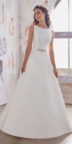 Morilee by Madeline Gardner - Blu Wedding Dresses 2017   www.deerpearlflow.  Esküvői Koszorúslány RuhákMenyasszonyiruha ... 90d3f898f5