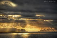 Sun rising on the first day of the year, between Deserta Grande and Bugio - Desertas Islands, Madeira Archipelago, Portugal
