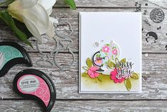 Pickled Paper Designs: Papertrey Ink February 2018 Release: Glorious Globes + Shape Shifters