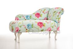 Beautifully upholstered in a vibrant floral print the Petite Chaise Lyonnaise brings summeru0027s loveliest blooms into your interior.  sc 1 st  Pinterest : petite chaise lounge - Sectionals, Sofas & Couches