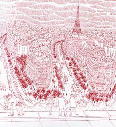 Robinson, Paris Line by Line