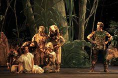 escenografia teatro con vegetación - Buscar con Google