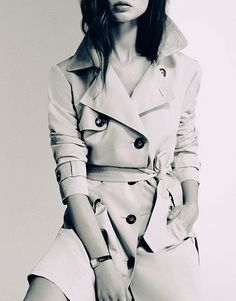 Can't go wrong with a classic trench....Burberry