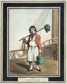 Mousse anglais en 1799. cc-publicdomain-Rowlandson Thomas (National Maritime Museum) http://fr.wikipedia.org/wiki/Vaisseau_de_74_canons