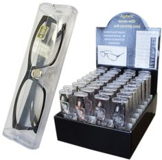 Demi Frame Readers w/ Cases and Display Case Pack 36