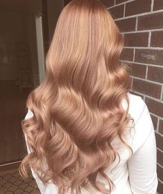 Details you don& know about caramel hair color and tones - . Hair Inspo, Hair Inspiration, Blond Rose, Blonde Rose Gold Hair, Copper Rose Gold Hair, Copper Blonde, Golden Blonde, Carmel Hair Color, Carmel Blonde