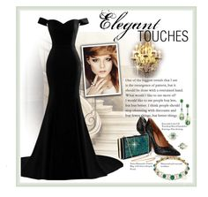 """""""The Elegance of Emeralds"""" by lois-boyce-flack ❤ liked on Polyvore featuring Bling Jewelry and Givenchy"""