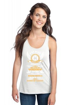 I Am Not Just A Pisces... Racerback Tank