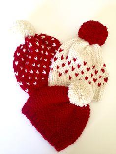 Heart beanie ❤️ #Laurelannknits