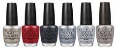 "A movie with the title 50 Shades of Grey is just screaming for a line of nail polishes, and OPI has answered the call. OK, there won't actually be 50 shades of gray nail polish in the limited-edition collection—there will be five and one red—but who actually expected there to be 50 anyway? The colors: My Silk Tie, a pearly silver; Romantically Involved, the one crimson shade inspired by the ""red room of pain""; Dark Side of the Mood, a dark slate; Shine for Me, a shimmering ..."