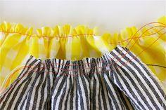 Gathering Fabric 2 ways – MADE EVERYDAY