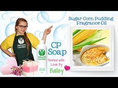 Soap Testing Sugar Corn Pudding Fragrance Oil- Natures Garden #naturesgarden #sugarcornpudding #fragranceoils #soapmaking #soapingvideos #cpsoap #coldprocesssoap