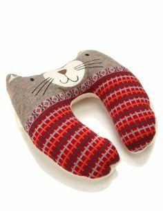 Aroma Cat Neck Pillow