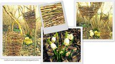 NaturNah: Landart mit Weidenäste Ladder Decor, Inspiration, Home Decor, Wicker, Thoughts, Nature, Garten, Homemade Home Decor, Biblical Inspiration