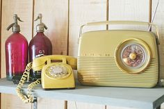 Vintage telephones $120  Vintage Bush Radio $269