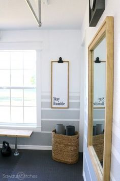 Best home gym decor ideas small spaces workout rooms 25 Ideas Diy Home Gym, Gym Room At Home, Home Gym Decor, Home Yoga Room, Best Home Gym, Workout Room Decor, Workout Room Home, Workout Nook, Small Rooms